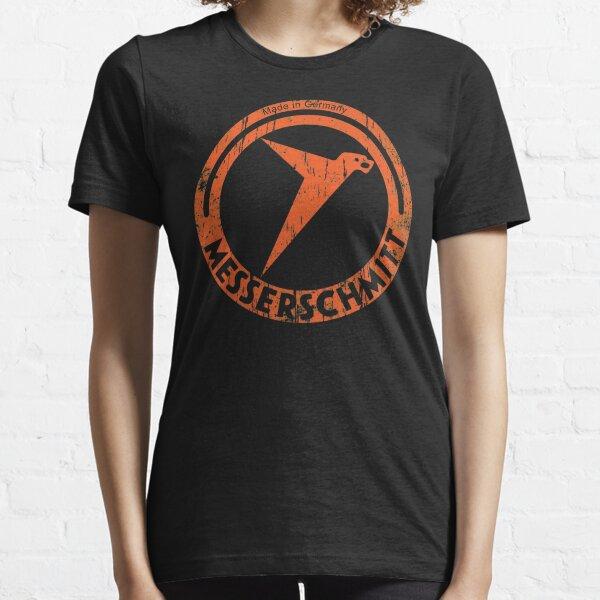 Messerschmitt German Aircraft Vintage Logo WW2  Essential T-Shirt