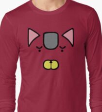 Astro Fighter Sunred: Animal Soldiers (Devil Cat) Long Sleeve T-Shirt