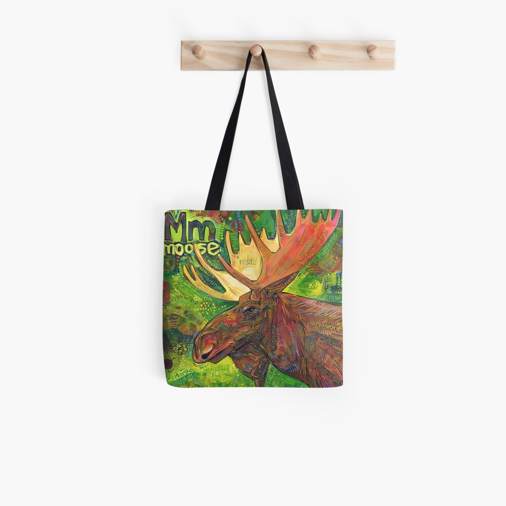 M Is for Moose - 2019 Tote Bag