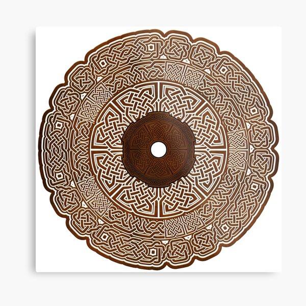 Celtic Circle 2 Metal Print