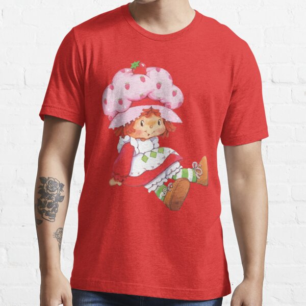 Strawberry Vintage Retro 80s 1980s Cartoon Essential T-Shirt