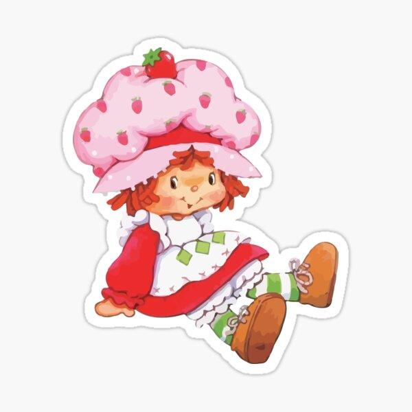 Strawberry Vintage Retro 80s 1980s Cartoon Sticker
