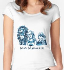 Loony Lovegood Women's Fitted Scoop T-Shirt