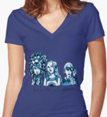 Loony Lovegood Women's Fitted V-Neck T-Shirt