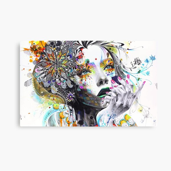 Banksy Urban Princess Graffiti Oil Painting Canvas Print
