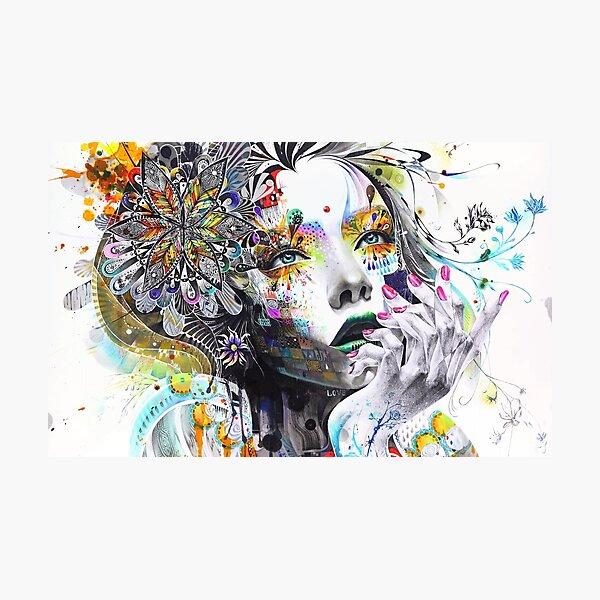 Banksy Urban Princess Graffiti Oil Painting Photographic Print