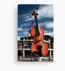 The Big Fiddle Canvas Print