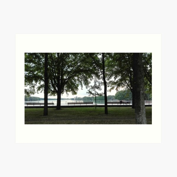 With Greetings from Sloterplas, Amsterdam Art Print