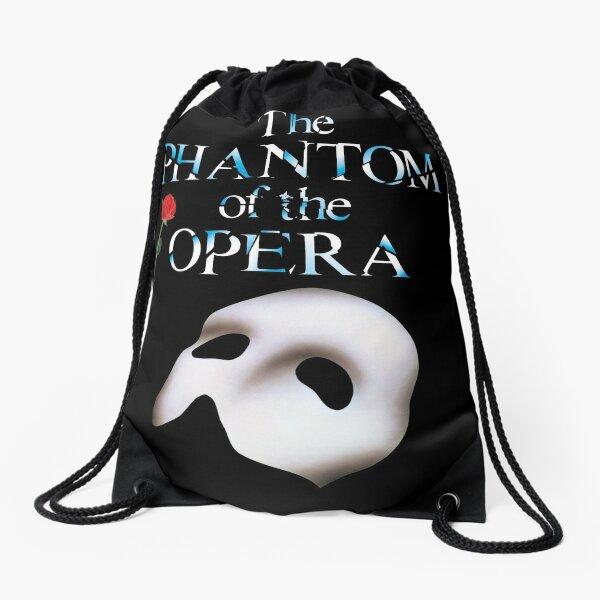 the great phantom of opera show Drawstring Bag