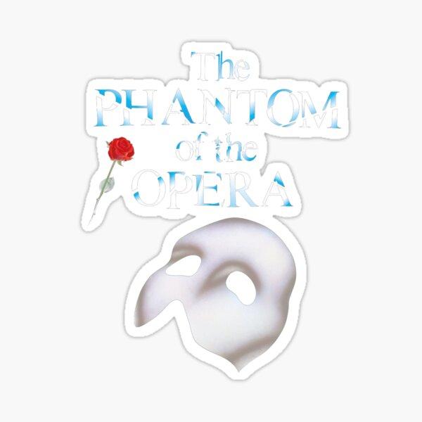 the great phantom of opera show Sticker