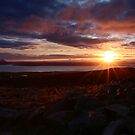 Sundown Over Applecross by Roddy Atkinson
