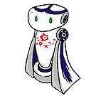 Robot Mascot Character by Vicki Lau