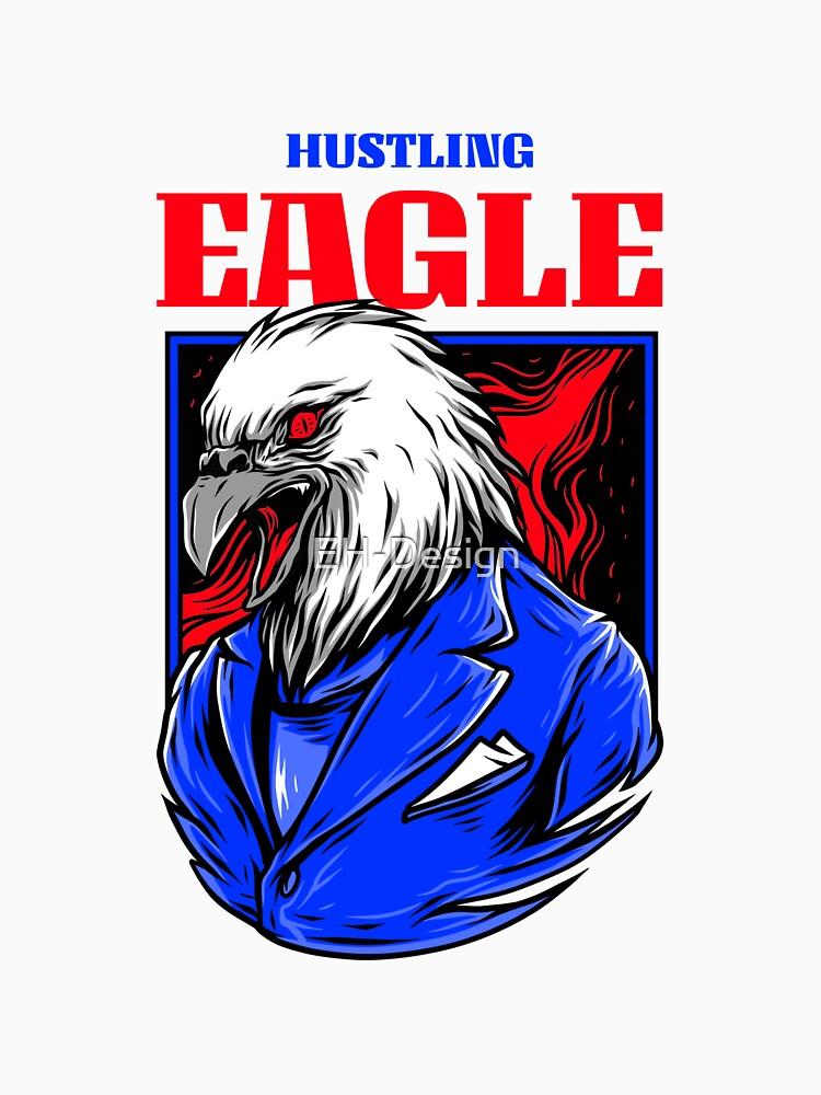 Hustling Eagle von EH-Design