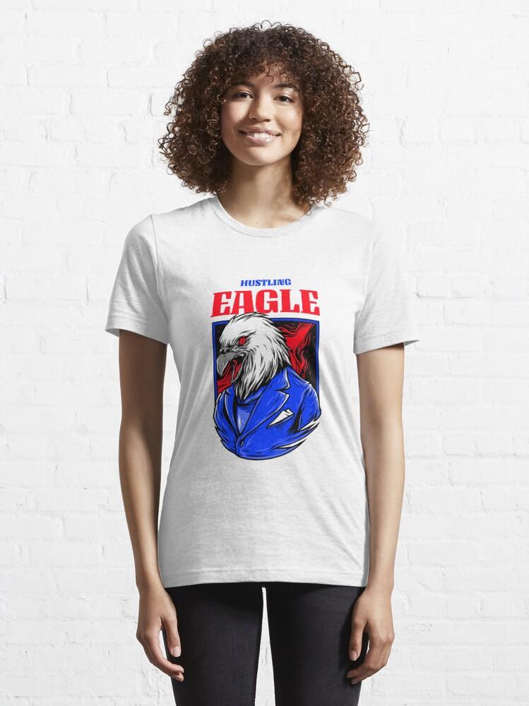 Alternative Ansicht von Hustling Eagle Essential T-Shirt
