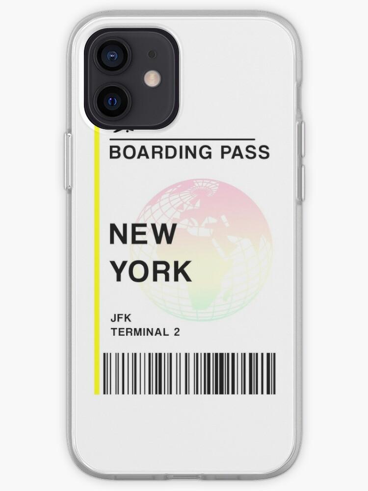 Billet d'avion New York City | Coque iPhone