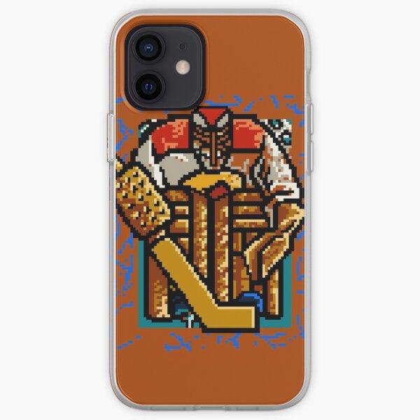 Pixel Hockey Goalie iPhone Soft Case