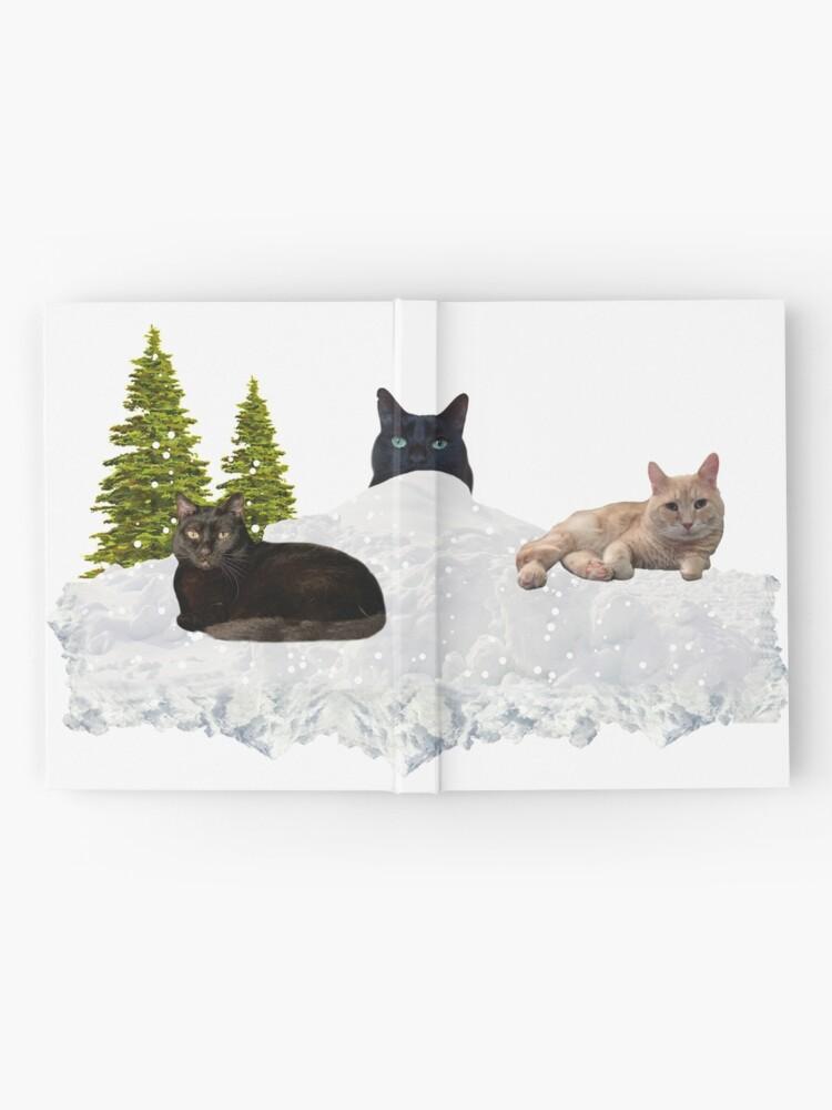 Alternate view of Blue Christmas V4 Hardcover Journal