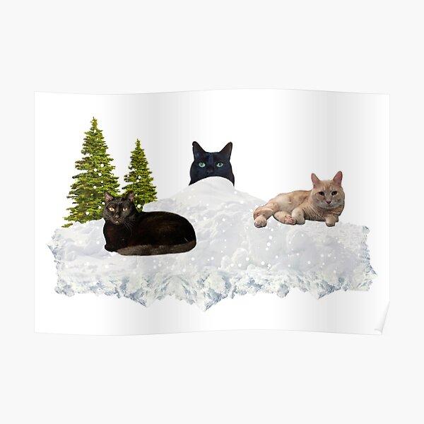 Blue Christmas V4 Poster