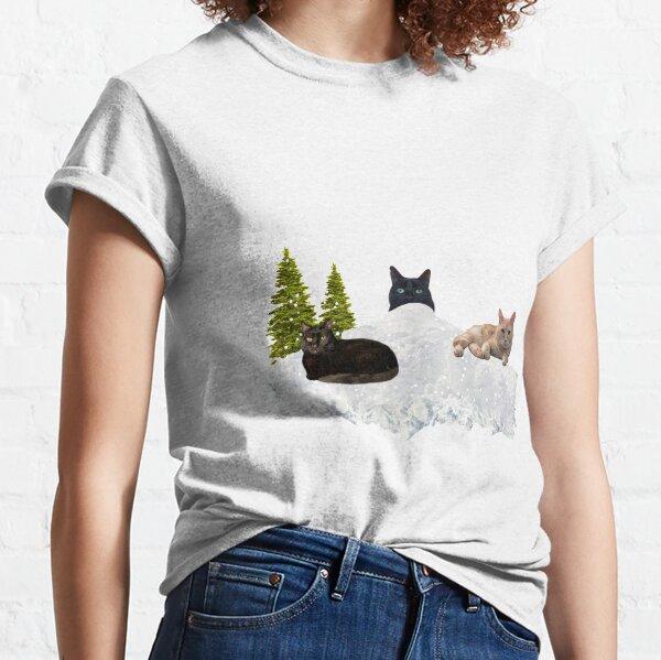 Blue Christmas V4 Classic T-Shirt