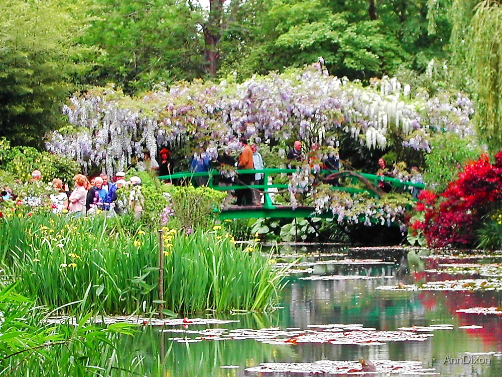 Claude Monet's Garden by AnnDixon