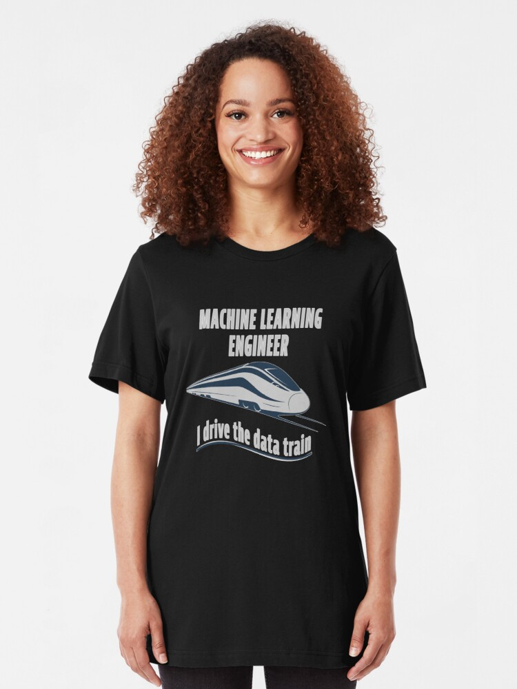 Alternate view of Machine Learning Engineer. Slim Fit T-Shirt