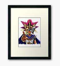 Yu-Gi-Oh - Yugi Framed Print