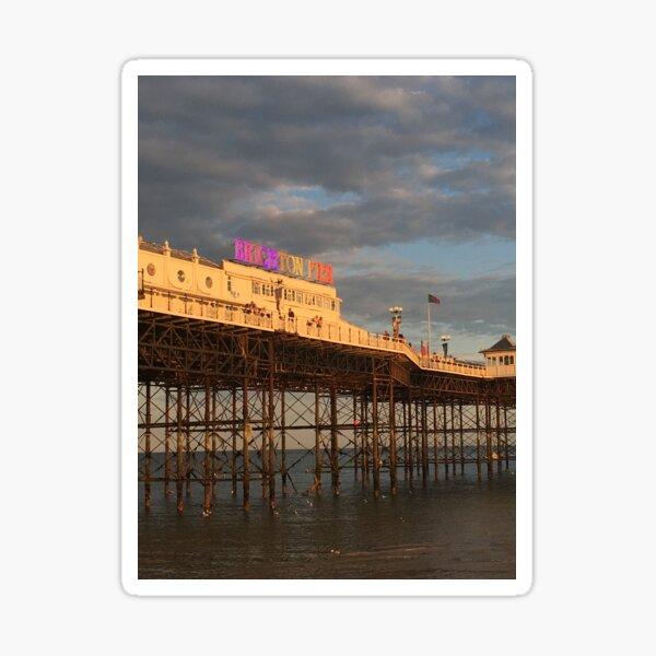 Brighton Pier Gay Pride Sticker