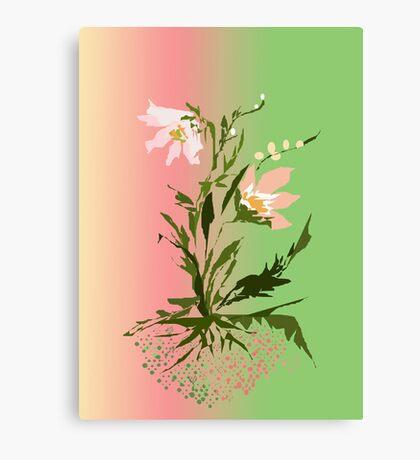 ... flower ... Canvas Print