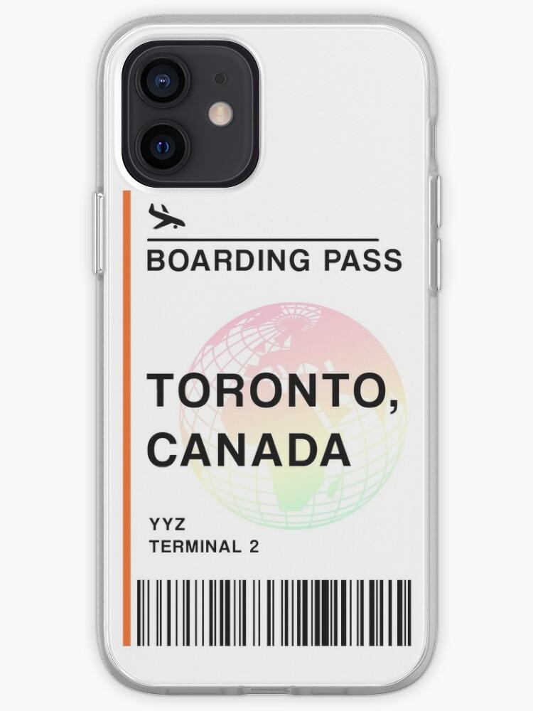 Billet d'avion Toronto   Coque iPhone