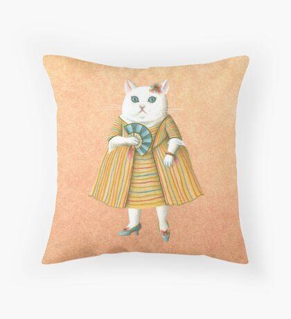 Mademoiselle Throw Pillow
