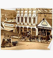 """Todays Mail"" Sovereign Hill Ballarat Poster"
