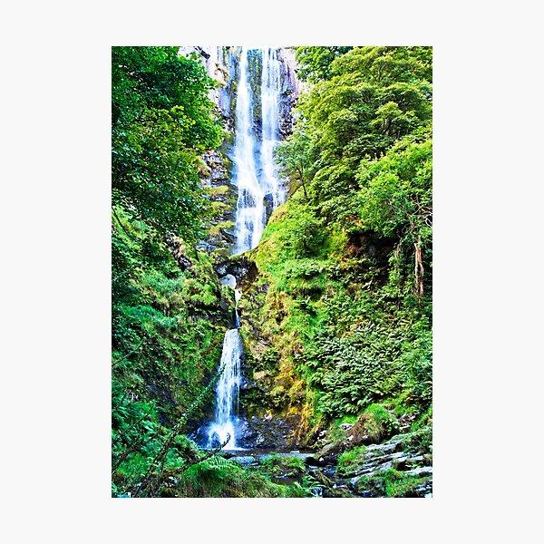Pistyll Rhaeadr Falls Photographic Print