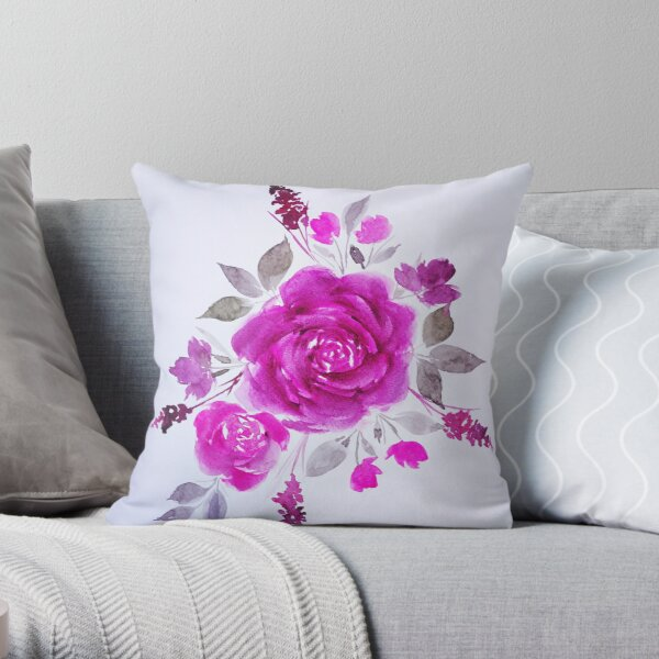 LULU FIYA Throw Pillow