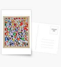 Empty Paint Tubes. Postcards