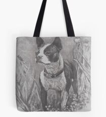 """""""Lady"""" in charcoal Tote Bag"""