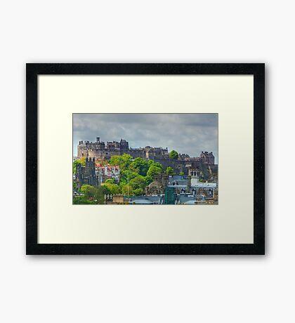 Edinburgh Castle HDR Framed Print