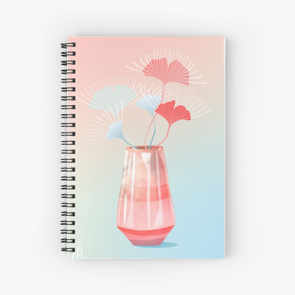 Midcentury Summer Dreams Spiral Notebook