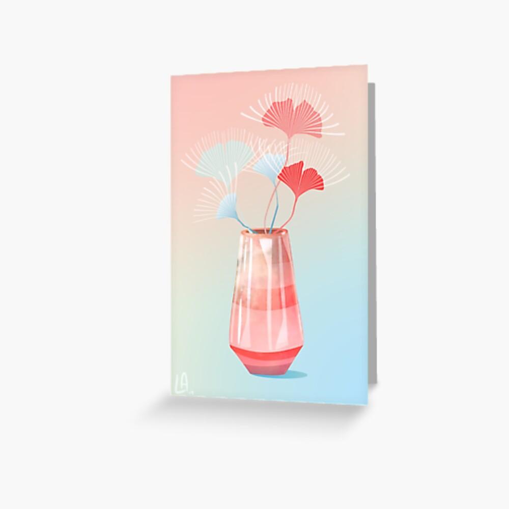 Midcentury Summer Dreams Greeting Card