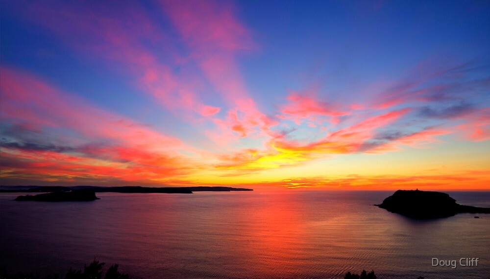 West Head Sunrise by Doug Cliff