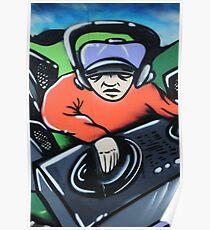 Graffiti artwork in Birstall Poster