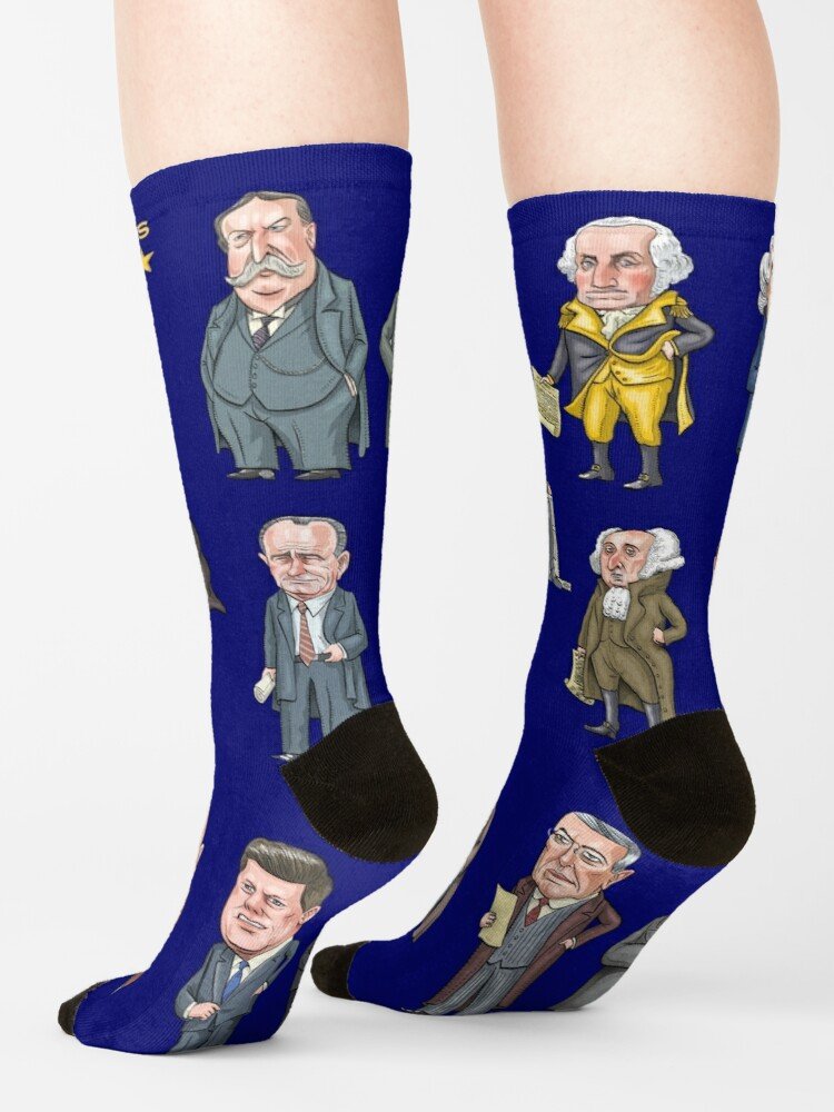 Alternate view of Presidents of the United States #1 Socks