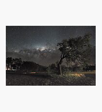 Galactic View from Planet Earth Photographic Print