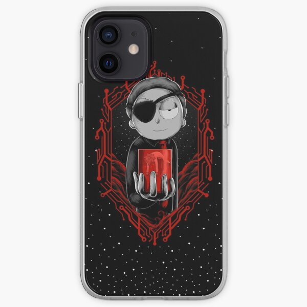 Evil Morty iPhone Soft Case