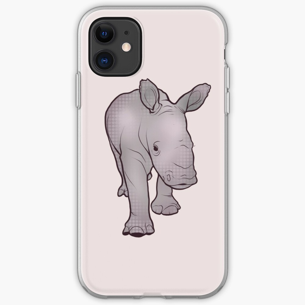 Rhino Baby iPhone Case & Cover