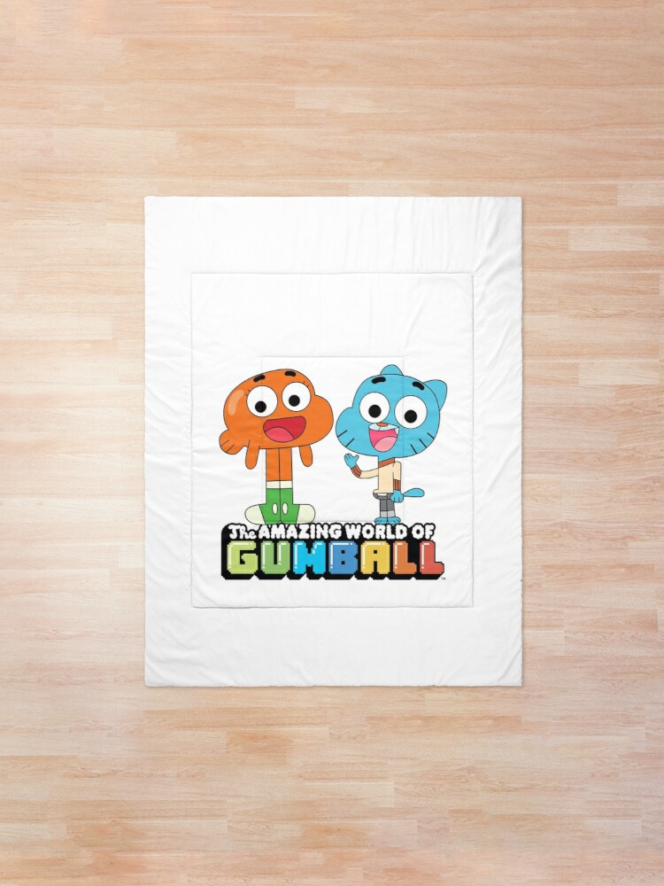 Alternate view of Gumball and Darwin Greet the fans Comforter
