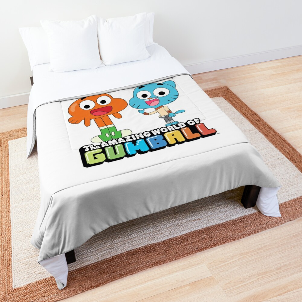 Gumball and Darwin Greet the fans Comforter