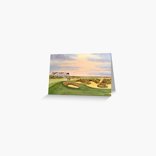 Kiawah Island Ocean Golf Course  Greeting Card