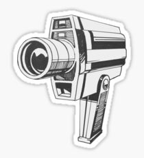 Video Camera Sticker