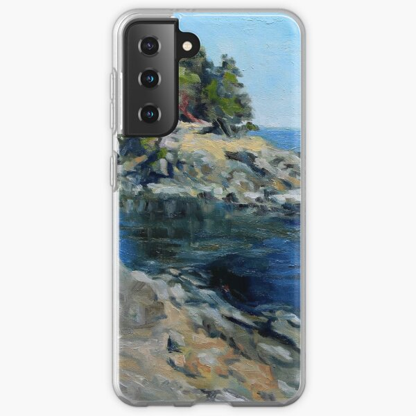 Canoe Pass at Winter Cove Samsung Galaxy Soft Case