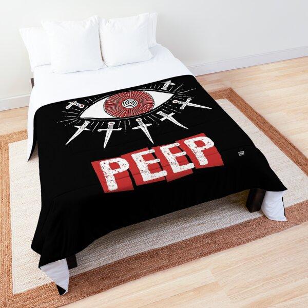People Gonna Peep Comforter
